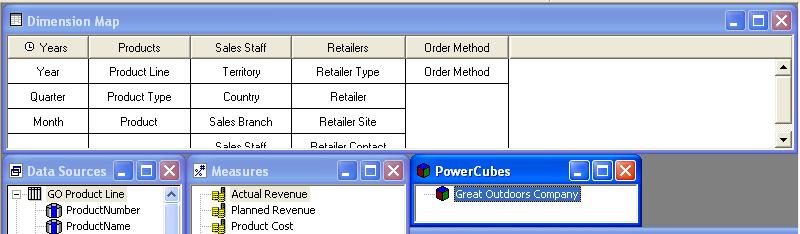 IBM Cognos Powerplay Transformer