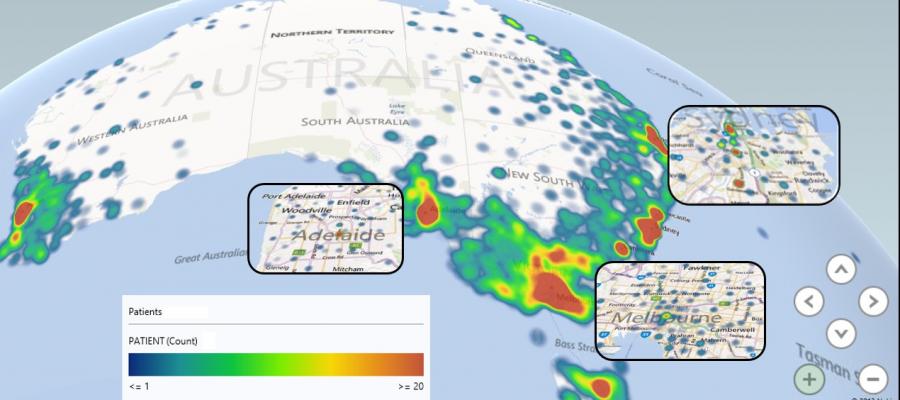 Visualizaciones en Power Map