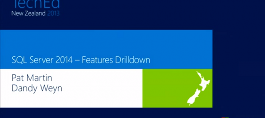 Nuevas características de SQL Server 2014